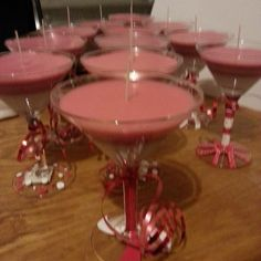 Birthday Cake Scented Martinis