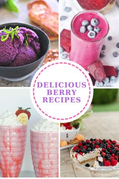 Delicious Berry Recipes - berry sorbet, berry smoothies, berry milk shakes and a loaded berry pie - so delicious and perfect for summer! Beet Smoothie, Smoothies, Free Games For Kids, Berry Pie, Top Recipes, Easy Recipes, Streusel Topping, Great Appetizers, Pumpkin Bread