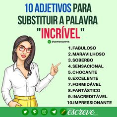 Portuguese Grammar, Portuguese Language, Writing A Book, Writing Tips, Writing Prompts, Study Methods, Study Tips, Improve Vocabulary, Learn Brazilian Portuguese