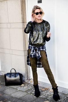 Sofie getting her sparkle on. Antwerp. #SofieValkiers  #Fashionata