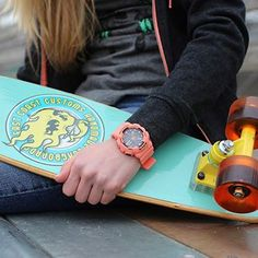 Grab a mini cruiser from East Coast Customs & a Baby-G watch for spring! East Coast Customs, S Shock, G Watch, Consumer Behaviour, Baby G, How To Feel Beautiful, Behavior, Jewellery, Watches