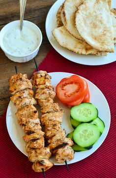 Lebanese Shish Taouk (Tawook) Chicken Skewers.  Get your grill on!~ The Spice…