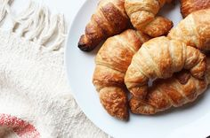 Make your own perfect, flaky, buttery vegan croissants with this fool-proof recipe. Serve warm with butter and jam for the perfect way to start your day.