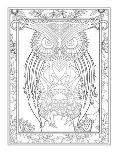 ***ESCAPE TO A WORLD OF FLYING CREATURES, UNICORNS AND PEGASUSES. LET YOUR IMAGINATION PAINT THEM TO LIFE***   A FANTASY ADULT COLORING BOOK FULL OF GORGEOUS REALISTIC AND MYTHICAL CREATURES  Fall in love again with that imaginary world of beautiful wild animals, winged lions, griffons and big cats.  Over 50 gorgeous images to dive into. Cindy Elsharouni's unique artwork is perfect for advanced colorists as well as novices. Also great for children who like a challenge!  The detail is…