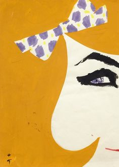 René Gruau - Cover for International Textiles No. 377, 1964 - I - Fashion Illustration Gallery