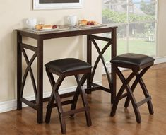 Dining Room Furniture Big Lots 3-Piece Breakfast Dining Set