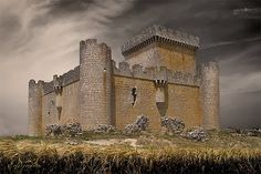 Villalonso Castle, one of the many listed on the map in the Sonlight Core C cook, Time Traveller.