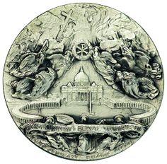 Artemide Aste - Asta XXVI: 1285 - Pio XII (1938-1959) Medaglia 1950 per il Giubileo - Dea Moneta