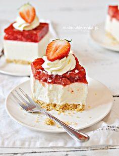 Polish Cookies, Sweets Cake, Cheesecake, Good Food, Baking, Recipes, Dhal, Cakes, Recipe