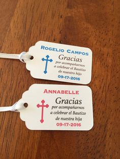 Best baptismal giveaways tags