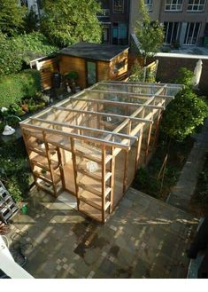 Tolles Glashaus, - Best Picture For Garden Types plants For Your Taste You are looking for something, and it is going to tell you exactly wha Garden Types, Diy Garden, Shade Garden, Home And Garden, Garden Sheds, Garden Gate, Garden Projects, Build A Greenhouse, Greenhouse Gardening