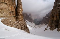 Val di Mesdi Walls, Dolomites, Italy, © copyright by Jack Brauer.