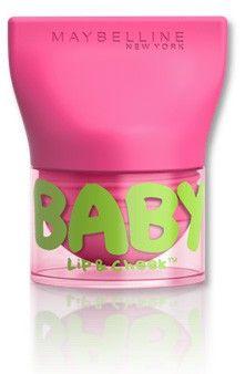 Baby Lips Balm & Blush Flirty Pink da Maybelline €4,99. Para lábios e maçãs do rosto (preço aproximado)