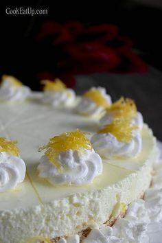 cheesecake lemoni me karamelomeno xisma Cupcake Cakes, Cupcakes, Christmas Cake Pops, Sweets Recipes, Greek Recipes, Vanilla Cake, Nutella, Lemonade, Panna Cotta