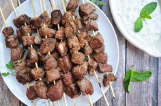 Easy, tasty and a bit on the showy side if you want to impress your Mother-in-law. The serving size given is a party size. Youll want to put 5-6 cubes on a skewer for meal sized ones