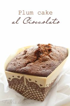 Plum cake al cioccolato fondente di Iginio Massari, semplice capolavoro della…