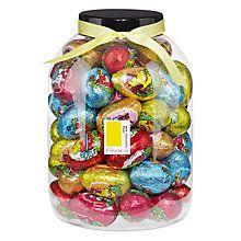Buy Farhi Giant Jar of Foiled Milk Chocolate Eggs, 1.1kg Online at johnlewis.com