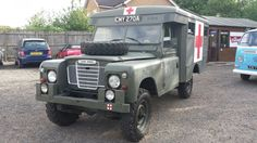 For sale I have my 1963 tax exempt ex military Marshall Land Rover Ambulance in fantastic condition , is showing just 41000 miles which is believed be genuine from the condition, starts on the button every time , runs and drives like a dream , has recently had a full brake overhaul , fuel tank sende