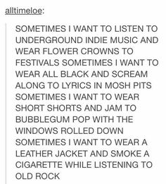 Replace bubblegum pop with teenybopper music of the sixties, this is me The Words, Infp, Bubblegum Pop, Hardcore, Describe Me, Nerd, Thats The Way, I Can Relate, Text Posts