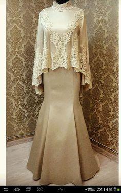 Muslimah Wedding Dress, Muslim Wedding Dresses, Muslim Dress, Hijab Evening Dress, Hijab Dress Party, Evening Dresses, Kebaya Modern Dress, Kebaya Dress, Abaya Fashion