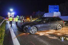 #Sachschaden und #Stau nach #Unfall auf #A72