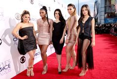 Camila Cabello Photos Photos - (L-R) Singers Ally Brooke Hernandez, Normani Hamilton, Lauren Jauregui, Dinah Jane Hansen and Camila Cabello of Fifth Harmony attend The 41st Annual People's Choice Awards at Nokia Theatre LA Live on January 7, 2015 in Los Angeles, California. - Arrivals at the People's Choice Awards — Part 2