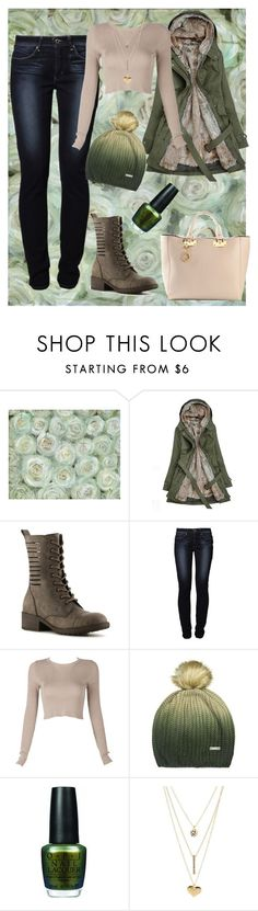 A Change in Weather by aloysia-shea on Polyvore featuring Levi's, Madden Girl, Sophie Hulme, Charlotte Russe, Bench and OPI