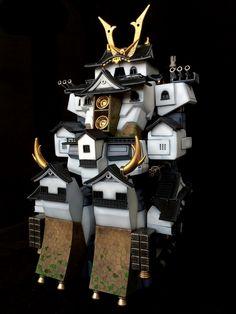 猫车村西瓜's Full Transformable HGUC PSYCHO GUNDAM HIKONE CASTLE CUSTOM: Full REVIEW, WIP [A Lot Of Images!] http://www.gunjap.net/site/?p=290053