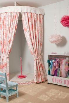 Girls dress up area
