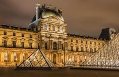 Three Pyramids ! The Louvre, Paris by Europe Trotter on 500px