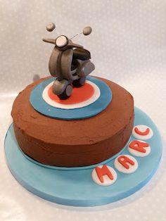 vespa cake more vespas cake cake para cake ideas moto cake birthday ...