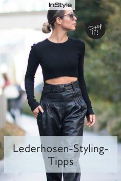 5 Styling-Tipps für deine Lederhose im Herbst