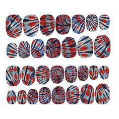 Rad - Tie Dye nail patches