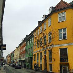 Colourful streets of Copenhagen