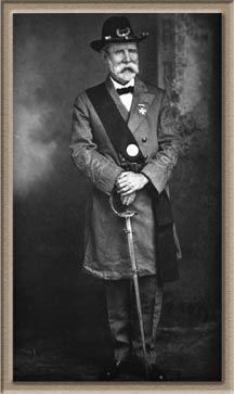 Corp. Albert S. McBride 6TH FL INFANTRY  CSA CIVIL WAR  VET