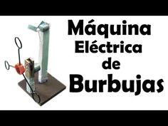 Como Hacer una Máquina de Burbujas Eléctrica (muy fácil de hacer) - YouTube Physics Projects, Stem Projects, School Projects, Craft Projects, Science Fair, Science For Kids, Activities For Kids, Diy Electronics, Arduino