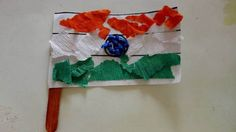 Indian Independence Day Craft- Indian flag