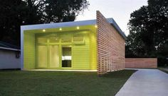 Yellow Sustainable Home Design Ideas