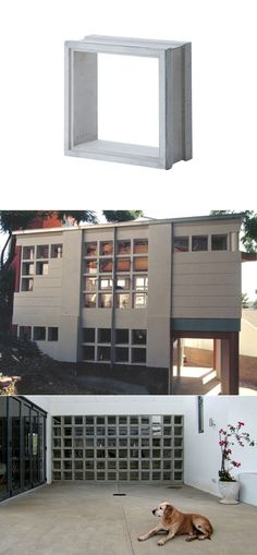 Winbloks: Pre-Cast Modular Concrete Window Frames - Core77