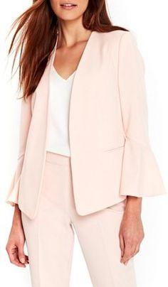 Shop Now - >  https://api.shopstyle.com/action/apiVisitRetailer?id=658260451&pid=uid6996-25233114-59 Women's Wallis Bell Sleeve Jacket  ...