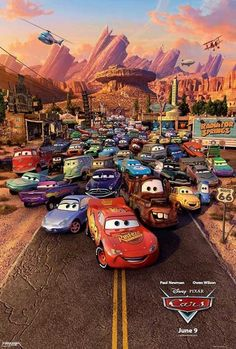 Day 19 - least favourite Pixar film - it would have to be Cars because I love all the other ones too much.
