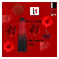 """""""Hot chile pepper"""" by wash-drea on Polyvore featuring Chanel, ombre and 60secondstyle"""