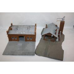POLA BUSINESS BUILDING GLOBE NEWS & WATER STATION HO SCALE PLASTIC MODELS