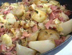 Ham & Cabbage Casserole