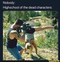 Bild memes 1 Kommentar - iFunny - New Ideas Anime Meme, Dead Memes, Dankest Memes, Foto Batman, Funny Images, Funny Pictures, School Of The Dead, Stupid Funny Memes, Funny Laugh