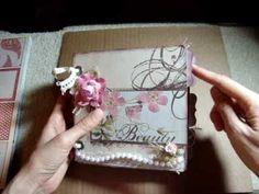 Shabby Chic Bella Bella Mini Scrapbook Album