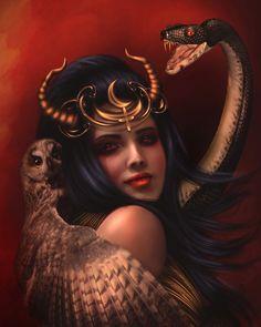 Absolutely Stunning Dark & Gothic Photo Manipulations #2 | nenuno creative