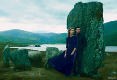 Adam Driver and Daria Werbowy Vogue September Issue