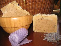 Lavender Honey Beeswax Soap  New Hampshire by MapleBeeProducts.etsy.com
