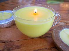 Schnu1 - Kräuterhexe: Selbstgemachte Zimtkerze / DIY Cinnamon Candle